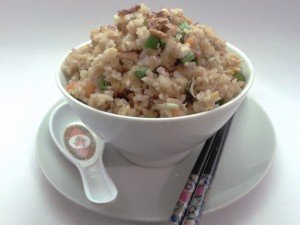 Easy Fried rice, Malaysian Style