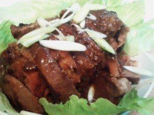 Pork with Yam - a Hakka dish