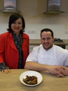 With Chef Ryan