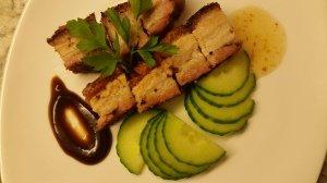 Roast Pork served with Hoisin and Plum sauce