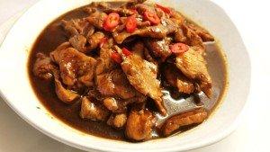 Or Bak or Black Cook Meat