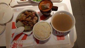 Dinner at Panda place