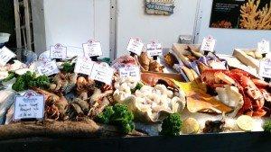 Fresh seafood - prawns, clams, squids, crabs, fish, lobster.. all super fresh.