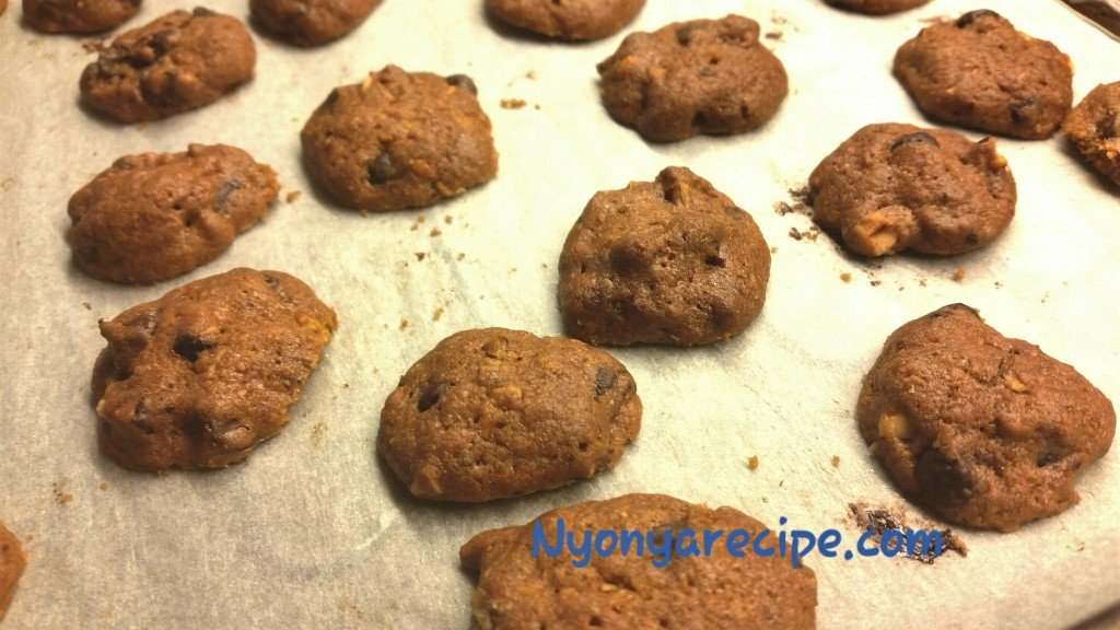 Choc Chips fresh from the oven