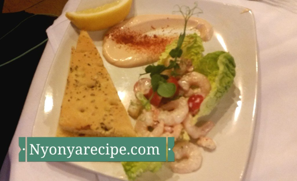 Prawn with Marie Rose sauce