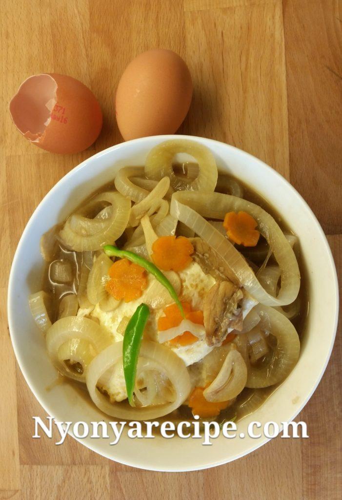 Egg Berandah - simple, easy and tasty.