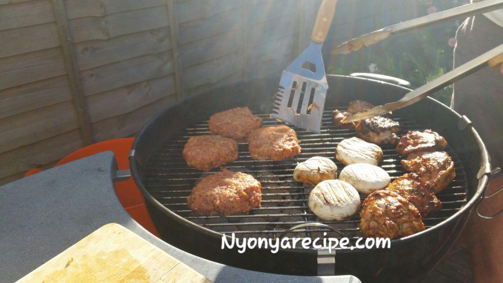 kimchi, burger, barbecue, easy