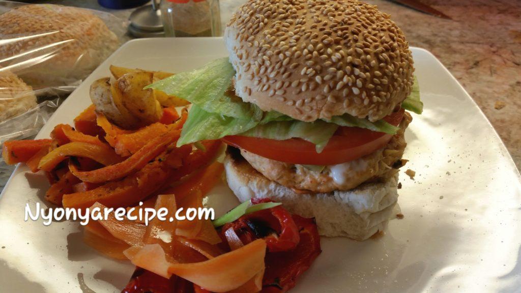 burger, kimchi, easy,summer