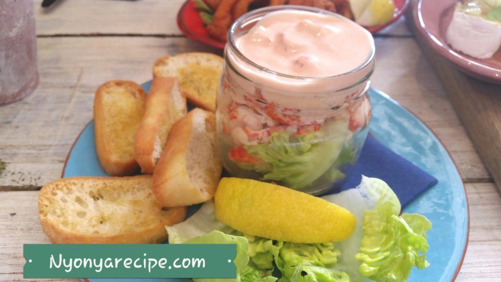 St Mawes Crayfish Salad.