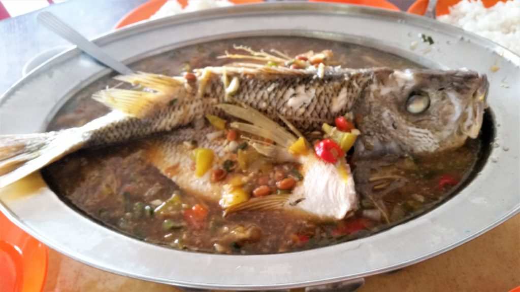 #Penang,#food, Malaysian, nyonya, fish,
