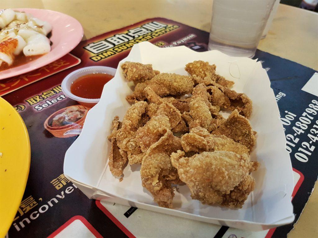 chicken, skin, food, Penang, Malaysia, Chinese,