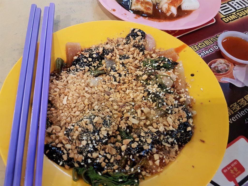 cuttle fish, eng chai, sweet sauce, Malaysia