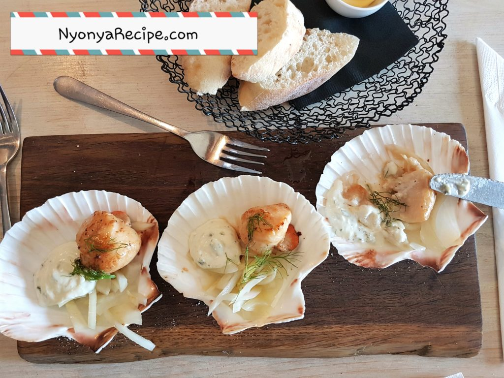 seafood, summer menu