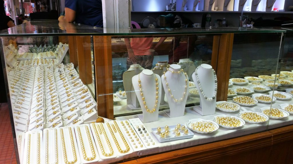 pearls, Bogyoke Market, Yangon, Myanmar,
