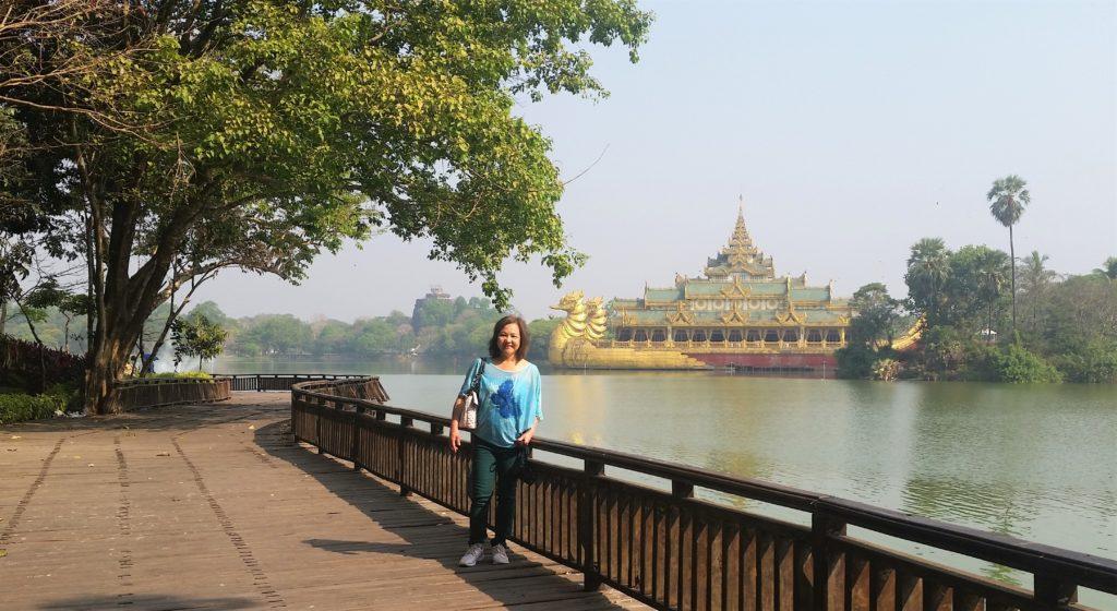 Kandawgyi, Natural park, Yangon.