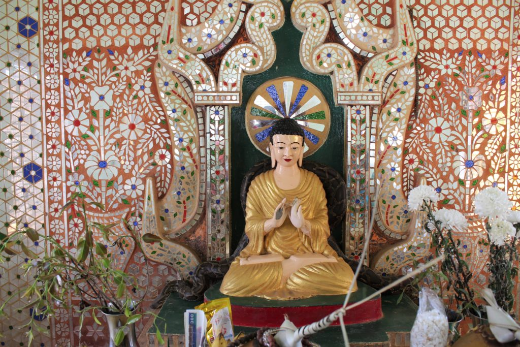 snake temple, Inle, Burma,