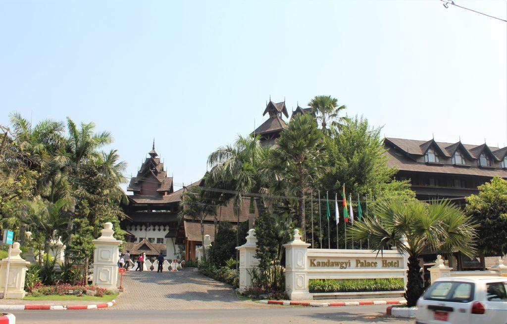 Kandawgyi Lake Hotel, Yangon, Myanmar