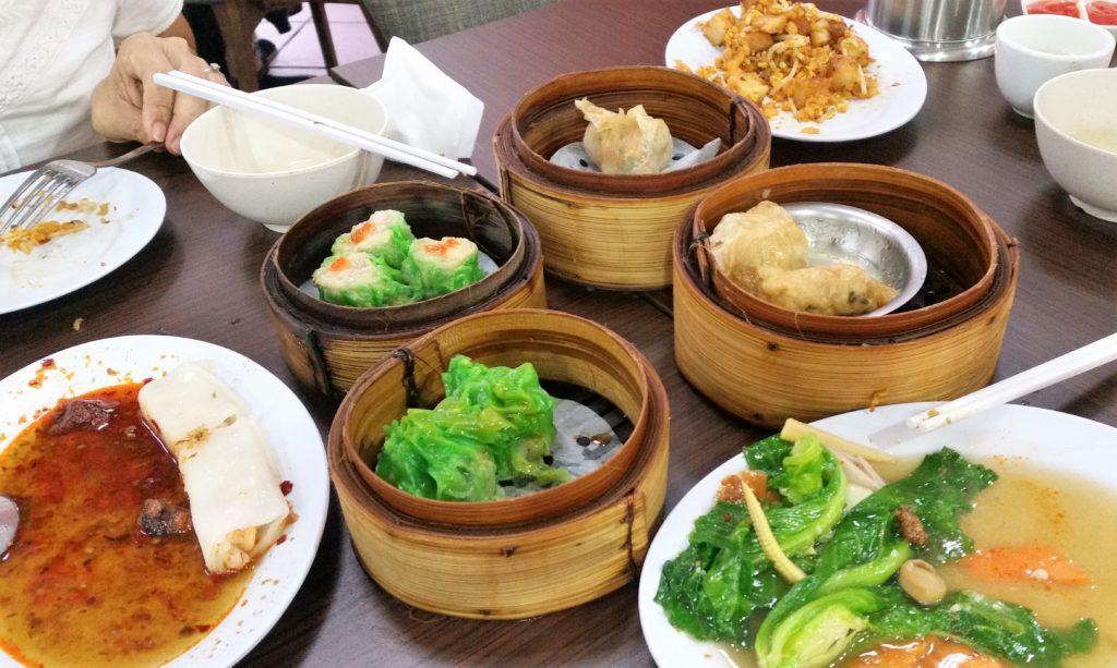 Dim Sum lunch, Brunei,