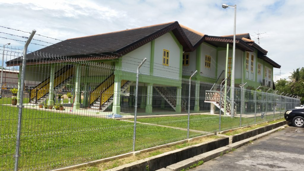 Brunei Sultan old palace