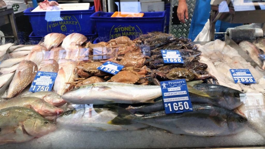 Seafood, Melbourne, Queen Victoria Market,