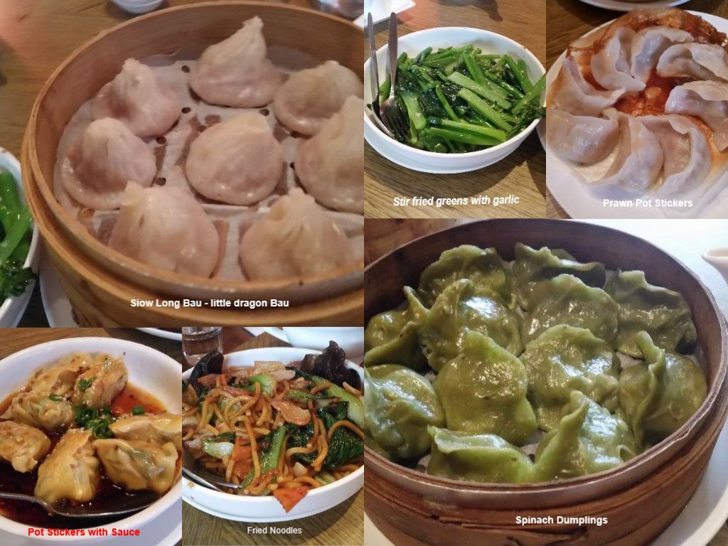 Chinese dumplings, Melbourne, Australia,