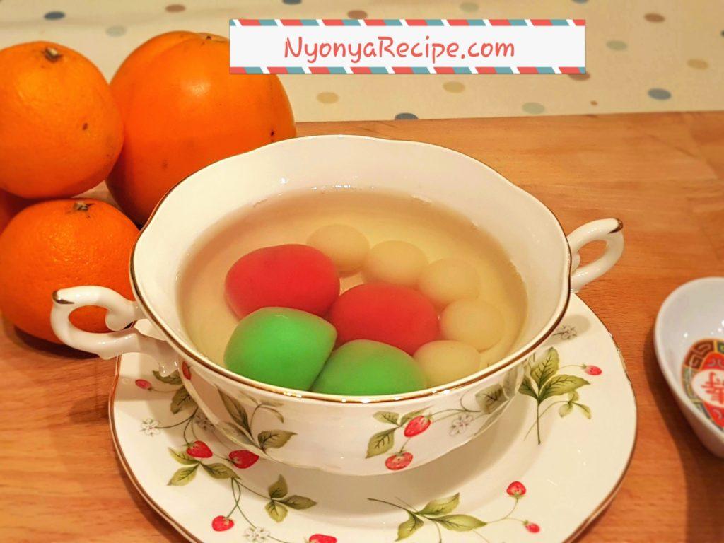 sweet bean paste, Stonehenge, winter solstice, Chinese, rice balls, tang yuan, kuih Ee
