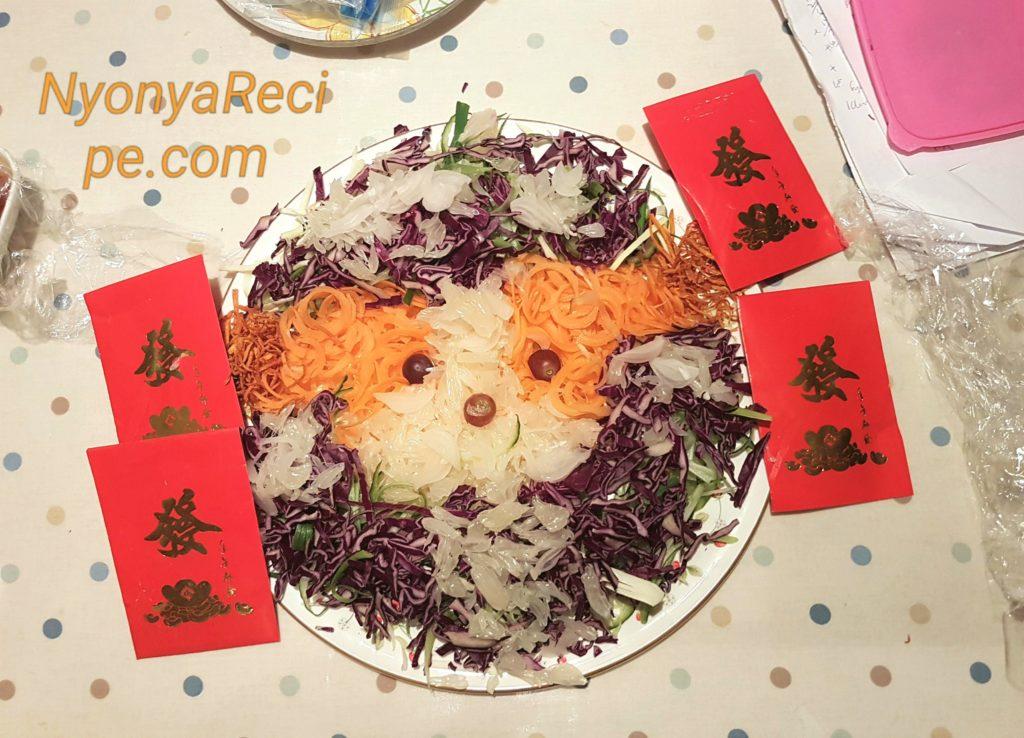 Chinese New Year, Yu Sheng, Dog, vegan, South Leics,