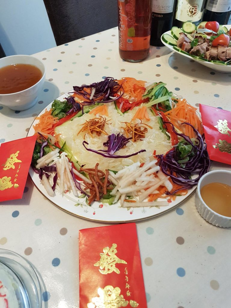 Chinese New Year, Yu Sheng, Salad,