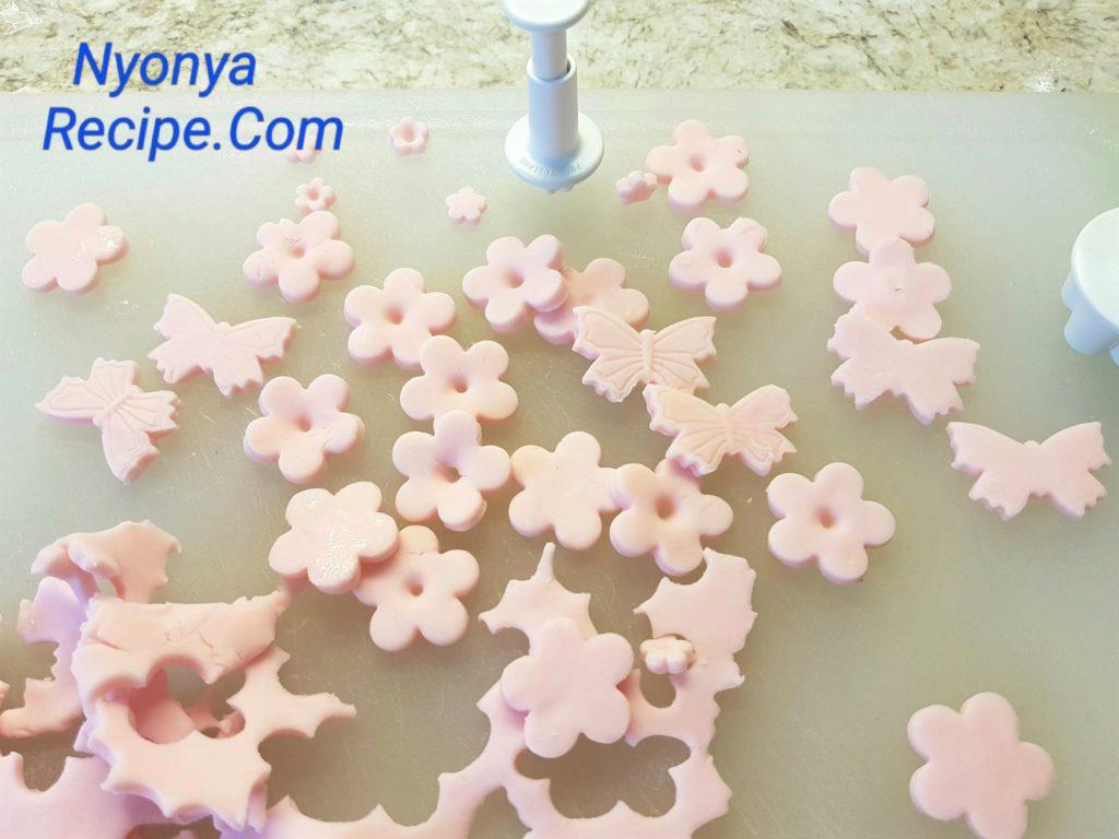 pink flowers, bubur cha cha, Chinese New Year, Penang, Nyonya,