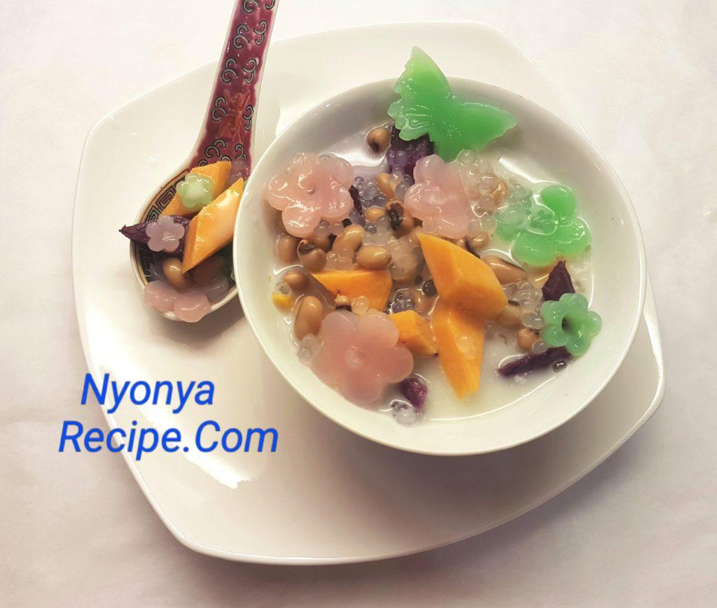 black-eyed peas, bubur cha cha, Chinese New Year, Penang, Nyonya,