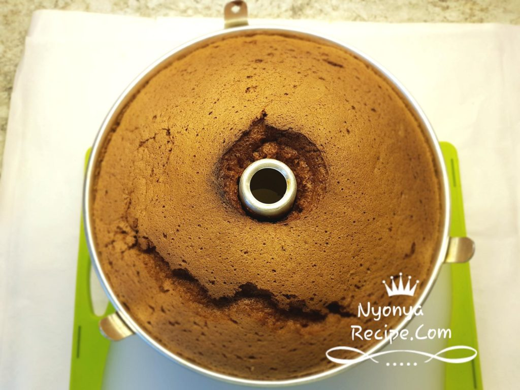 mocha chiffon, light, healthy, tea-time,