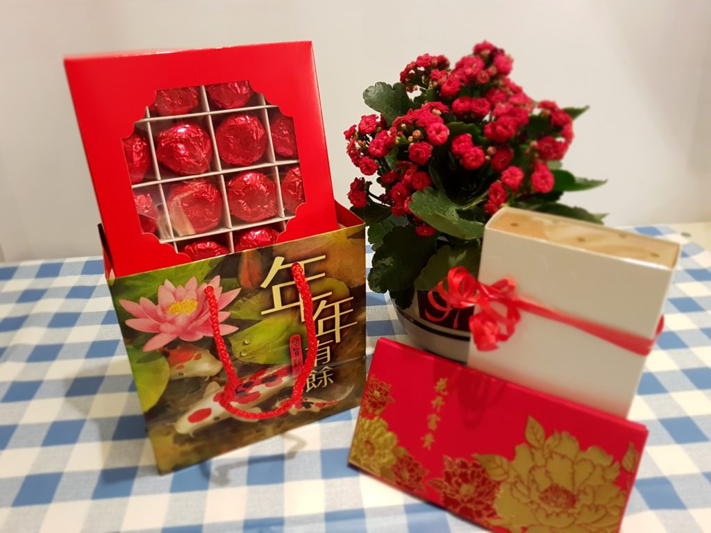 Chinese New Year gifts, vegan,