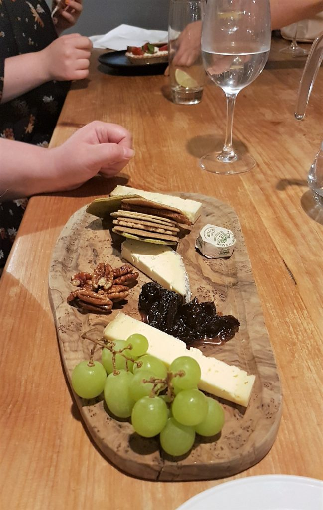 Poacher Cheese Platter with locally sourced cheese