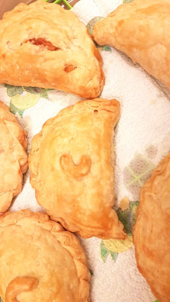 Coconut Pasty